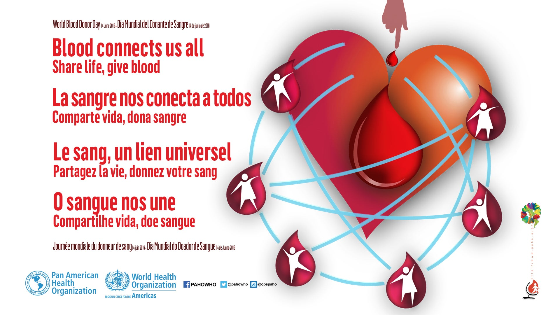 Pahowho World Blood Donor Day 2016 Blood Connects Us All