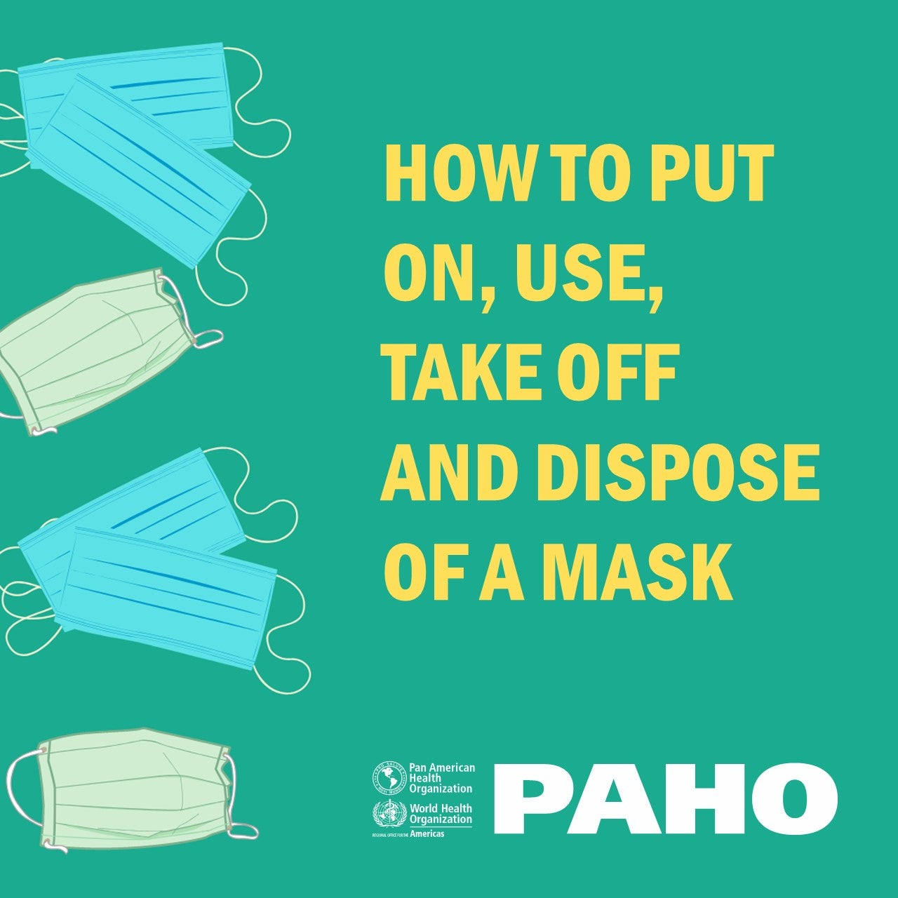 Social Media Postcard: When to use a mask (2)