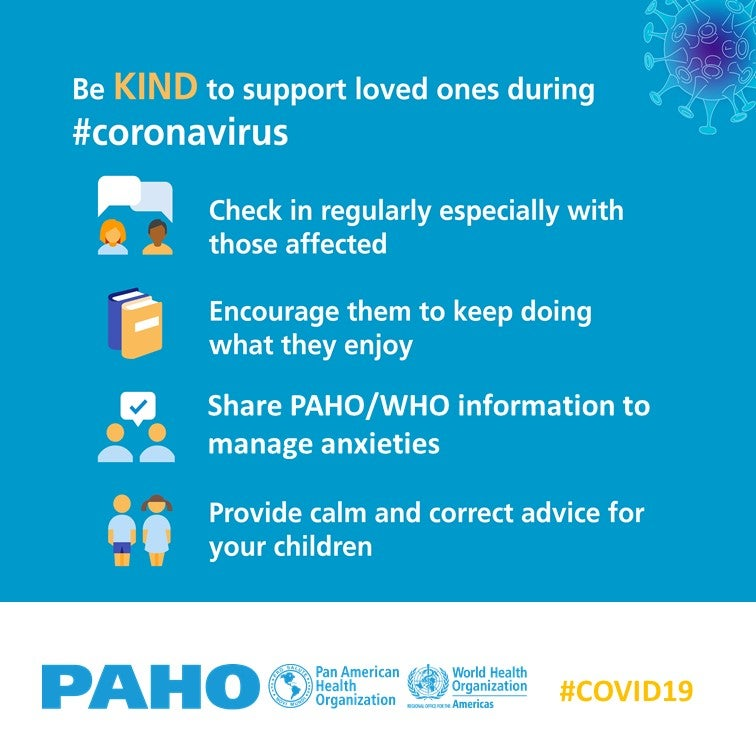 Be kind to address fear during COVID-19