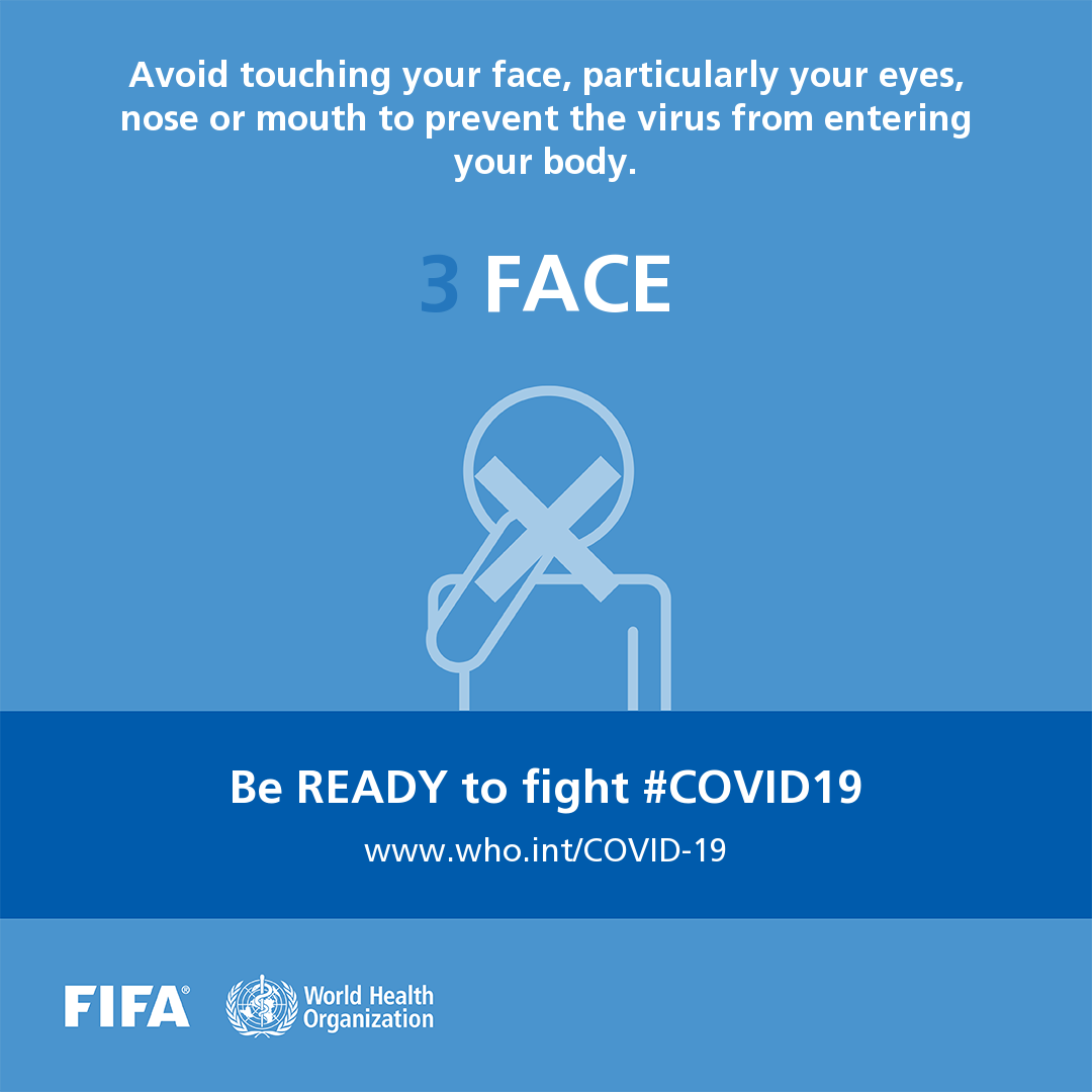 Be ready to fight COVID-19 social media postcard 3