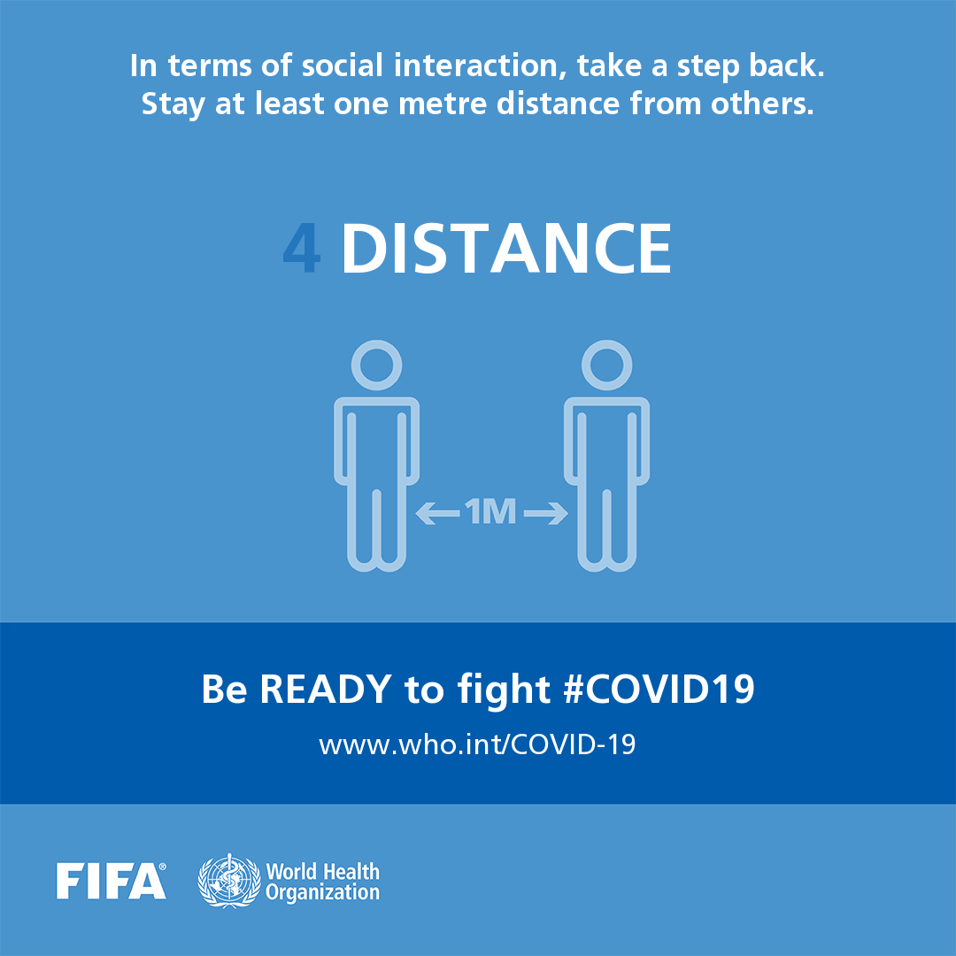 Be ready to fight COVID-19 social media postcard 4