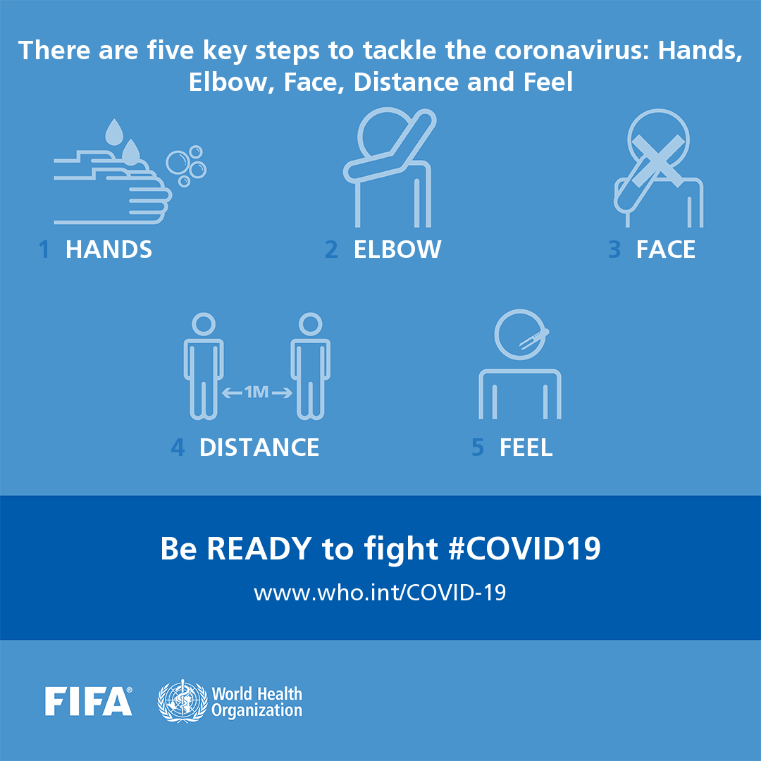 Be ready to fight COVID-19 social media postcard 6