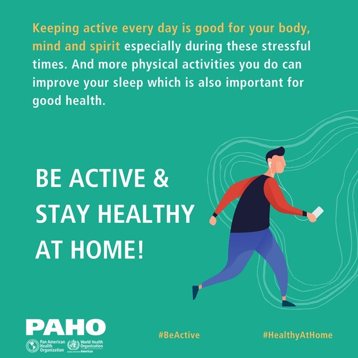 stay healthy at home
