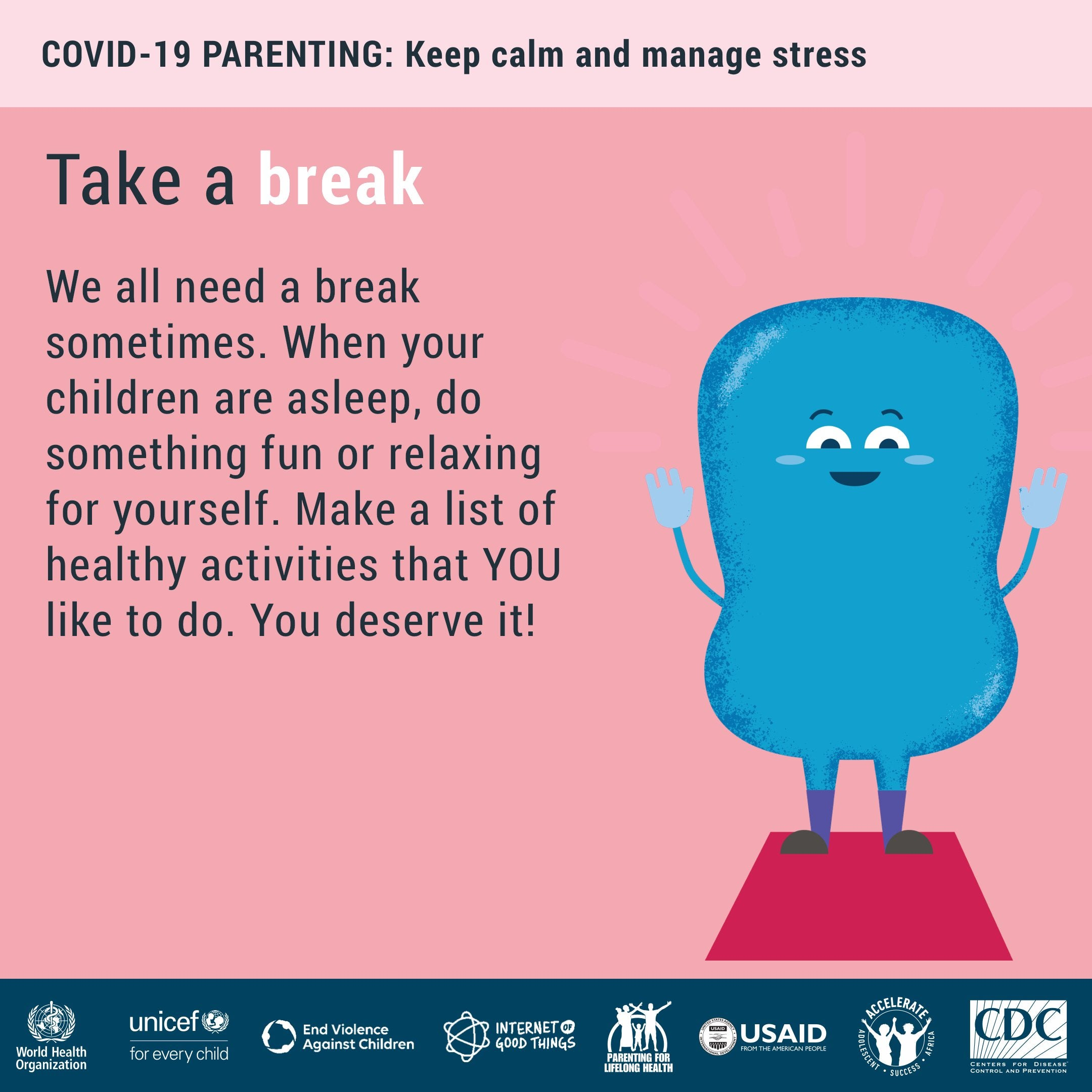 Keep calm and manage stress
