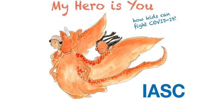 My hero is you. How kids can fight COVID-19!