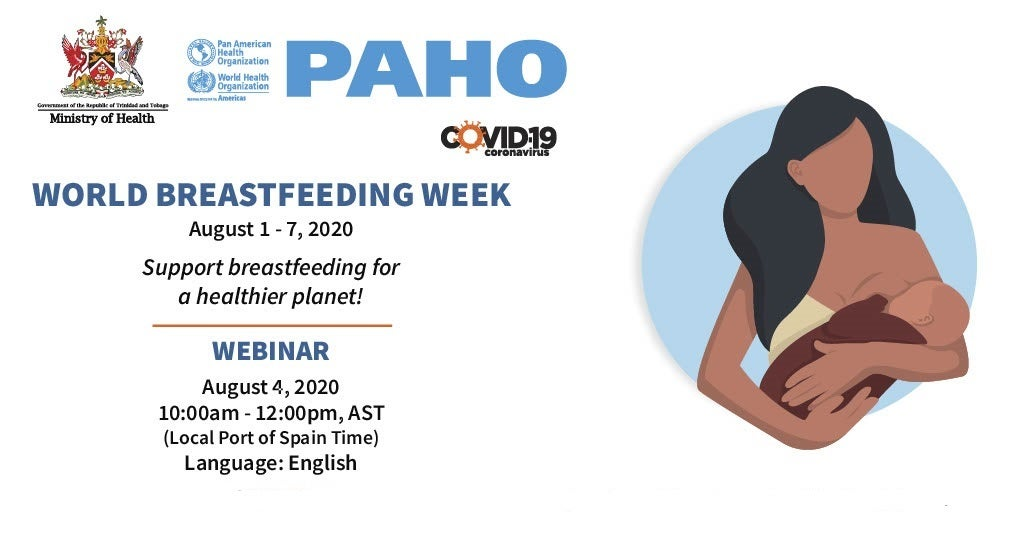 Invitation to the webinar on Breastfeeding on Tuesday 4 August, 10.00 am
