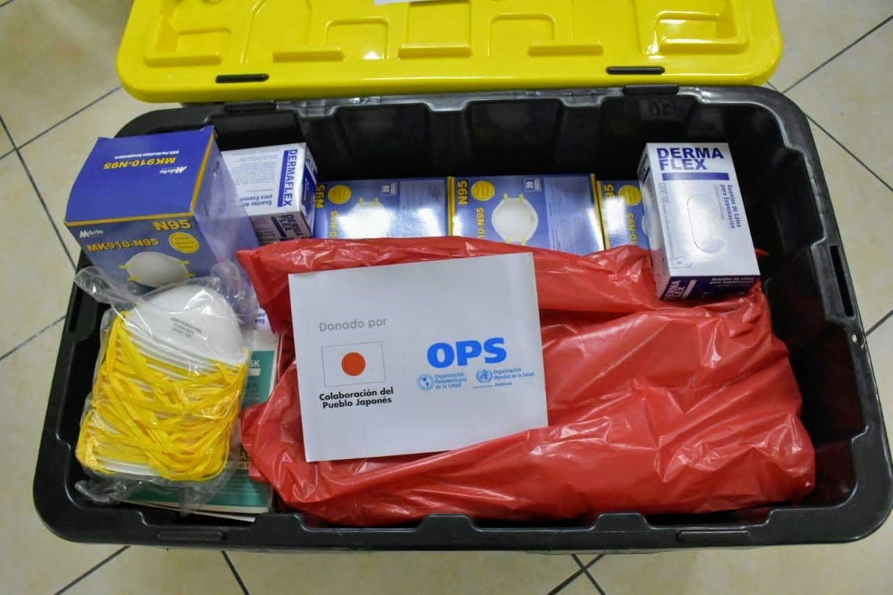Donation of equipment from Japan