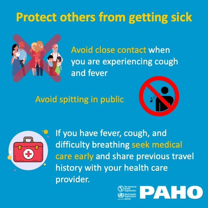 Protect others from getting sick