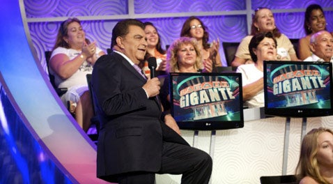 Don Francisco with his Sabado Gigante audience