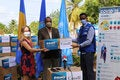 PAHO and Canada COVID-19 donation to Barbados