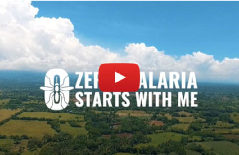 Zero Malaria starts with me - Voices from the Frontline (El Salvador)