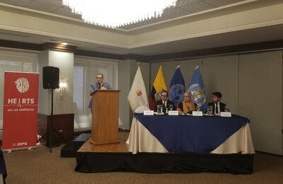 HEARTS Tehnical meeting Use of Validated Electronic Devices Ecuador MAR 2020