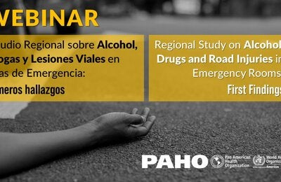 Invitation to the webinar Regional Study on Alcohol, Drugs and Road Injuries in Emergency Rooms: first findings