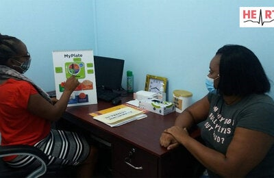 Nutrition counsellng in St Lucia