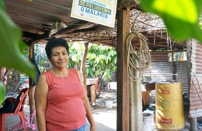 Juana, community volunteer