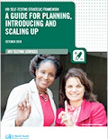 HIV self-testing strategic framework: a guide for planning, introducing and scaling up