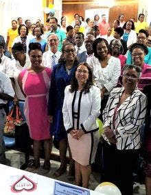 Launch of Hearts Initiative in Saint Lucia
