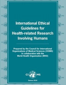 International Ethical Guidelines for Health-related Research Involving Humans