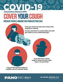 Infographic: COVID-19 - Cover your cough