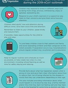 Infographic: Helping children cope with stress during COVID-19