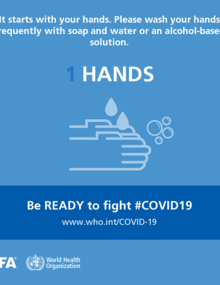 HANDS. Be ready to fight #COVID19
