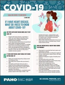 Fact-sheet: If I have Heart Disease, what do I need to know about COVID-19? 21 May 2020