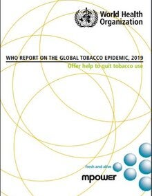 WHO report on the global tobacco epidemic, 2019