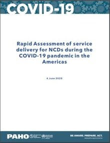 Rapid Assessment of service delivery for NCDs during the COVID-19 pandemic in the Americas, 4 June 2020