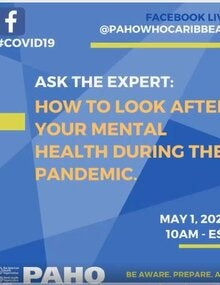 FacebookLive - Ask the Experts: COVID-19 and NCDs