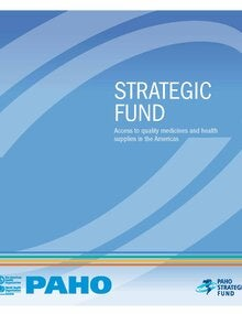 PAHO/WHO Strategic Fund - Brochure
