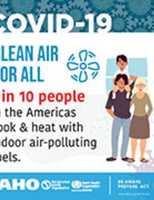 Social Media - Clean Air for All: 1 in 10 people in the Americas cook & heat...