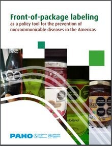 Cover of Front-of-Package Labeling as a Policy Tool for the Prevention of Noncommunicable Diseases in the Americas