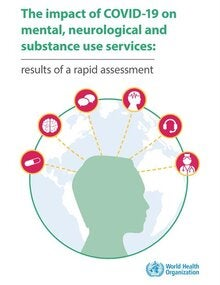 The impact of COVID-19 on mental, neurological and substance use services