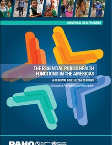 Publication cover The Essential Public Health Functions in the Americas.
