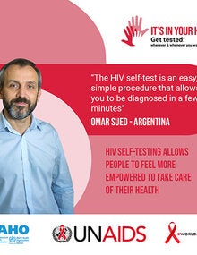 Social Media Postcards: World AIDS Day 2020 - It's in your hands. Get tested - 7