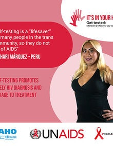 Social Media Postcards: World AIDS Day 2020 - It's in your hands. Get tested - 8