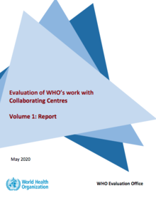 Evaluation of WHO's work with Collaborating Centres (2020)