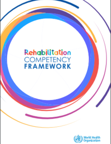 Cover of Rehabilitation competency framework