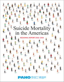 Cover of Suicide Mortality in the Americas. Regional Report 2010–2014