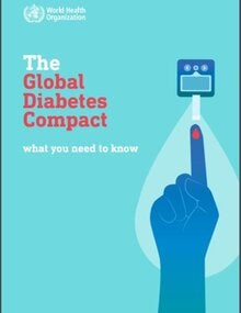 Cover of the booklet The Global Diabetes Compact, What you need to know