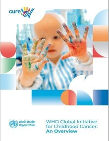 Cover of Global initiative for childhood cancer