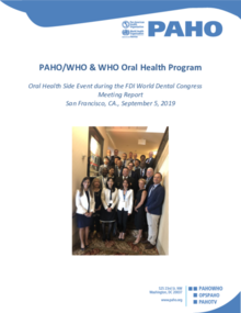 Oral Health Side Event during the FDI World Dental Congress Meeting Report