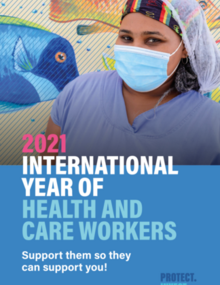 Roll-up. Year of Health and Care Workers 2021