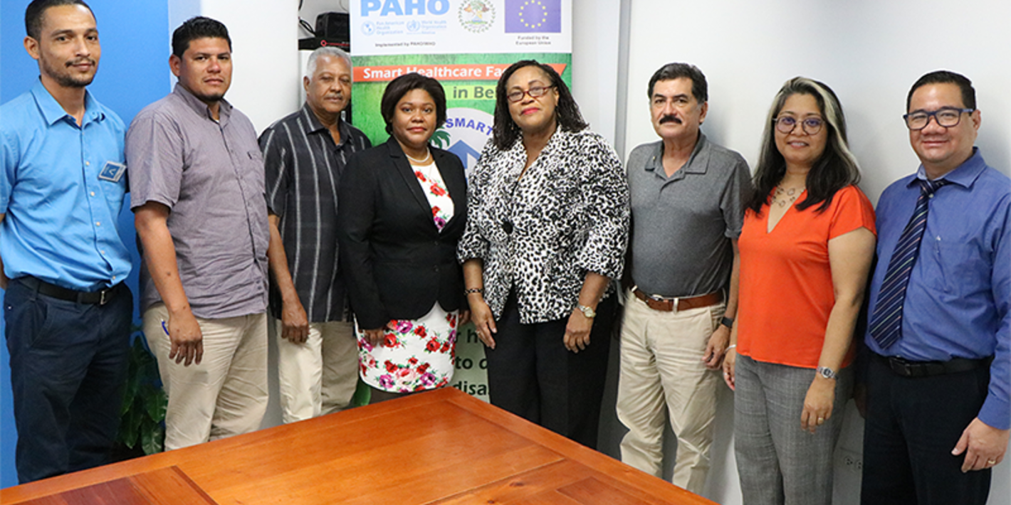 PAHO/WHO) hosted the kick-off meeting to officially launch the design phase of three health facilities in Belize