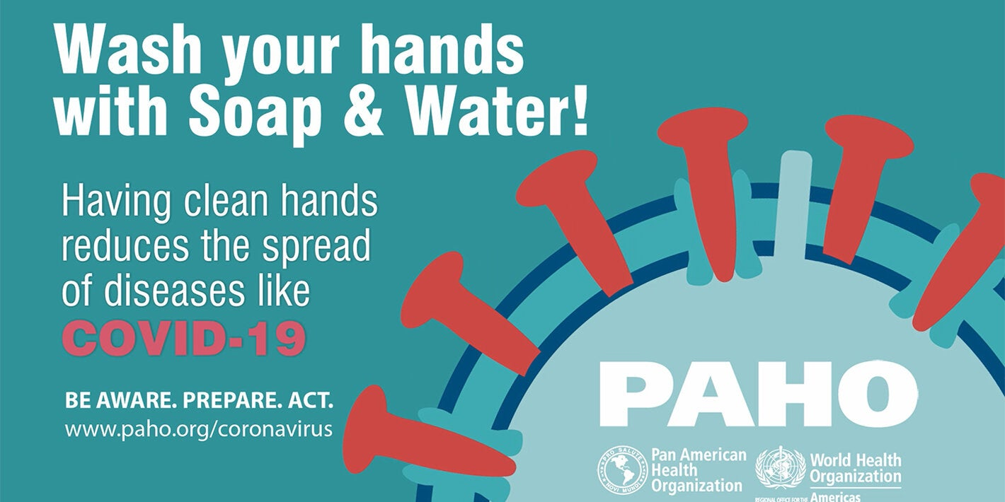 Handwashing and saving water during the COVID-19 pandemic