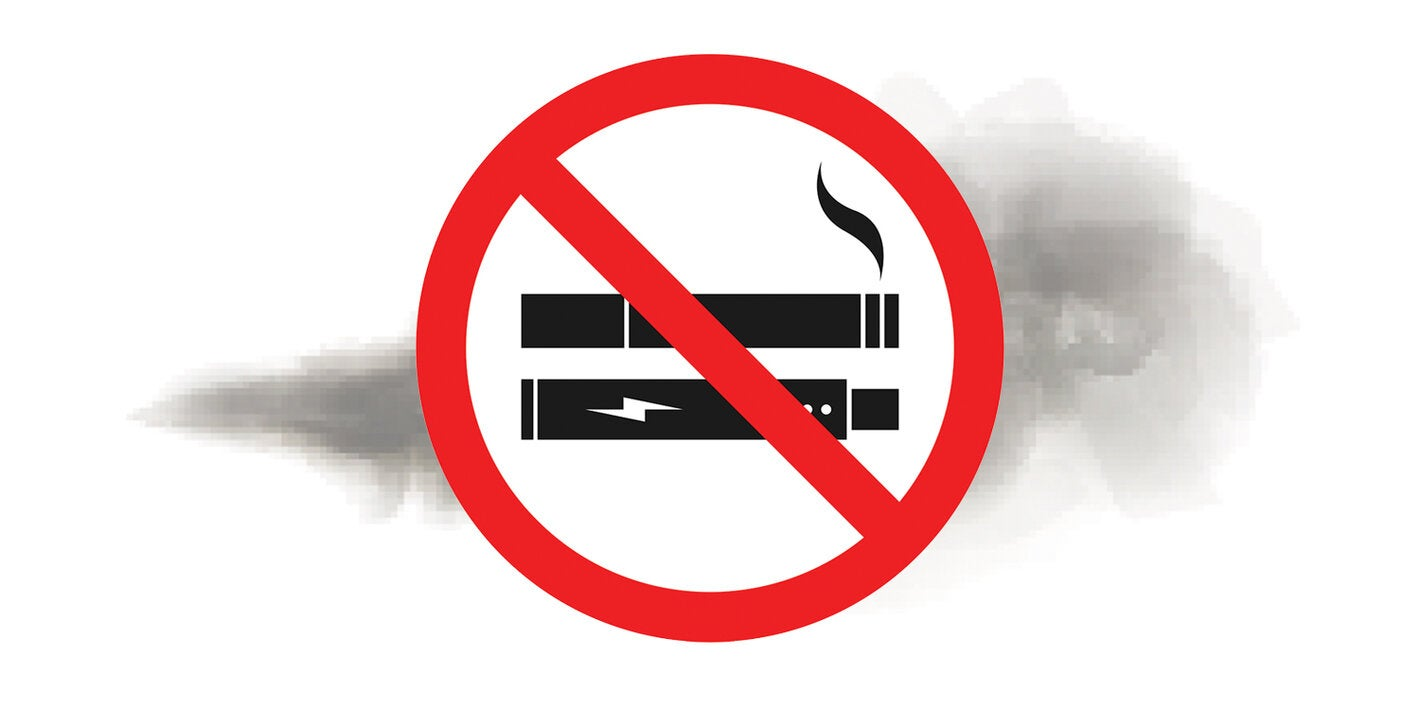 No fumar en espacios públicos