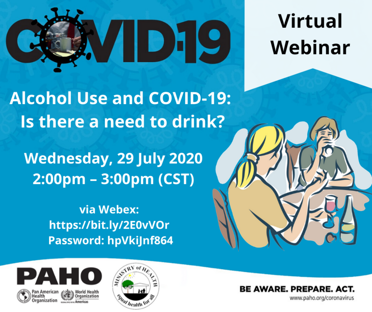 alcohol use and covid19 belize webinar