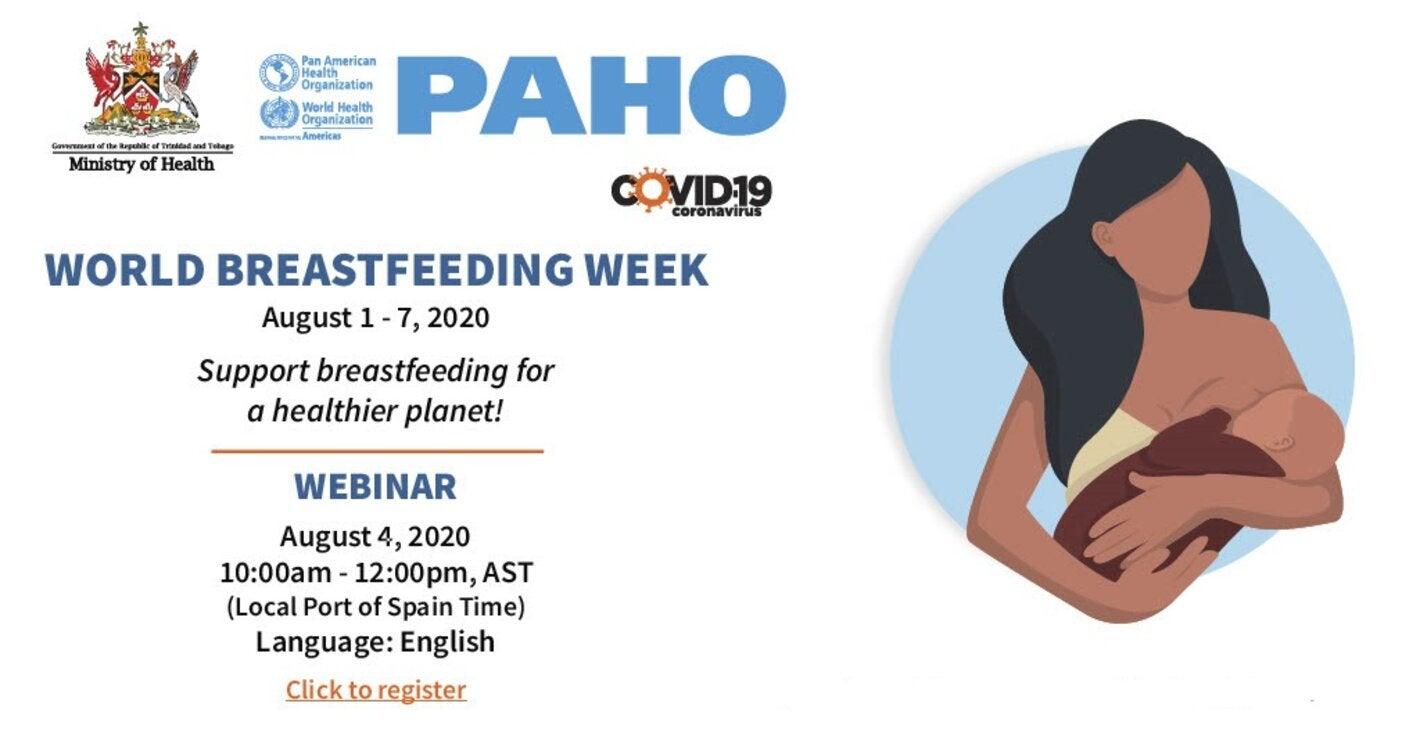 Webinar World Breastfeeding Week 2020 Paho Who Pan American