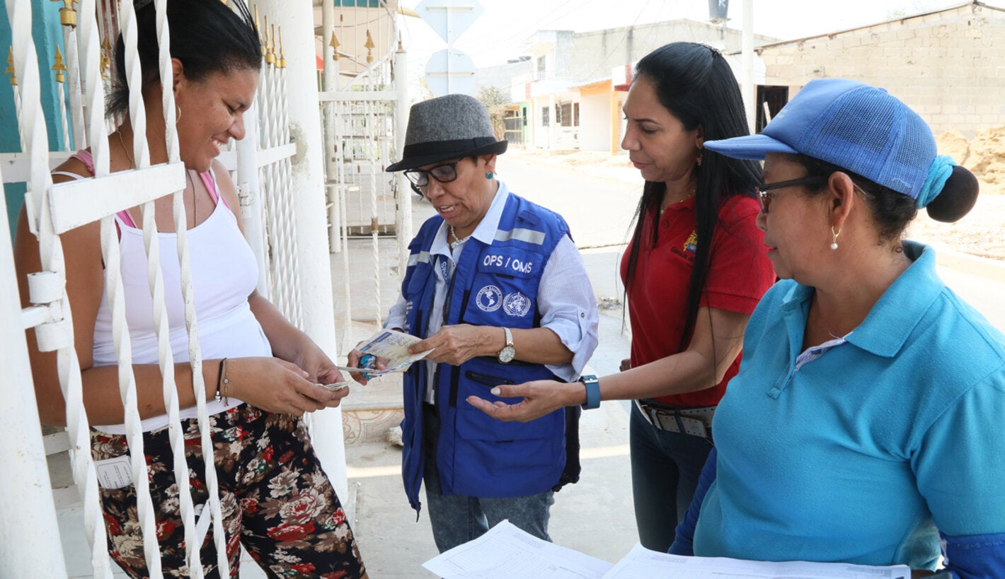 Health workers reaching the community