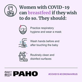 A women with COVID-19 should be supported to breastfeed safely